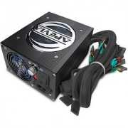 Apevia Dark Side Power ATX-AS600W-BK - Power supply (internal) - ATX - AC 115/230 V - 600 Watt