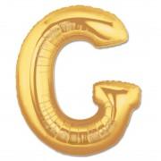Balon folie figurina litera G aurie