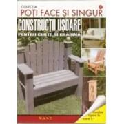 Constructii usoare pentru curte si gradina.