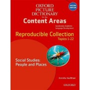 Oxford Picture Dictionary for the Content Areas: Reproducible Social Studies: People and Places by Dorothy Kauffman Ph.D.