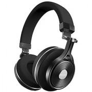 Bluedio T3 Plus (Turbine 3rd) Wireless Bluetooth 4.1 Stereo Headphones with Mic/Micro SD Card Slot (Black)