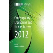 Contemporary Ergonomics and Human Factors by Martin Anderson