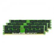 Kingston KVR16LR11D8K3/24 Memoria RAM da 24 GB, 1600 MHz, DDR3L, ECC Reg CL11 DIMM Kit (3x8 GB), 1.35 V, 240-pin
