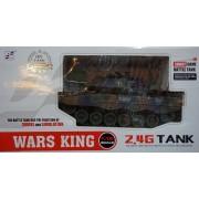 RC Távirányítós Tank Ger Leopard 2 A6 tartályos műanyag lövedékes 1:24 - NO.789-4