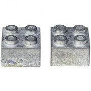 Zinc Brick Weight for LEGO(R) Derby Car Racing (set of 2) from Pinewood Pro