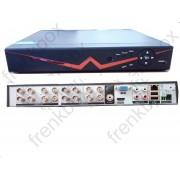 DVR 16 canali ibrido AHD 750p 1080p icloud HDMI Videosorveglianza su smartphone