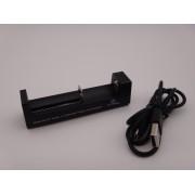Incarcator acumulatori 3.6V / 3.7V 18350, 18500, 18650, Li-Ion Xtar MC1 la USB