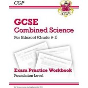 New Grade 9-1 GCSE Combined Science: Edexcel Exam Practice Workbook - Foundation by CGP Books