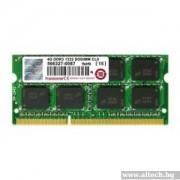 SODIMM, 4GB, DDR3, 1333MHz, Transcend (JM1333KSN-4G)