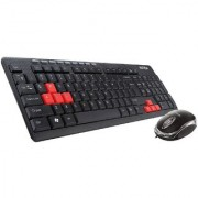 Intex DUO-314 Keyboard and Mouse Combo (Black)