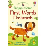 Farmyard Tales First Words Flashcards by Heather Amery