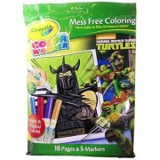 Crayola Color Wonder Mess Free Coloring Teenage Mutant Ninja Turtles