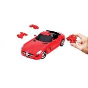 Puzzle di divertimento 3D 80.657.110 - Mercedes-Benz SLS AMG, rosso
