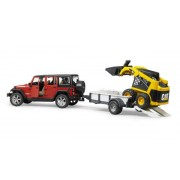 Jeep Wrangler sa Cat utovarivačem BRUDER