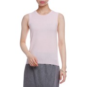 【70%OFF】カシミヤ混 ノースリーブニット ライトピンク 003 ファッション > レディースウエア~~その他トップス