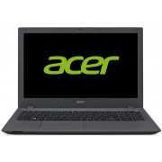 "Laptop Acer Aspire E5-573G-72QP (Procesor Intel® Core™ i7-5500U (4M Cache, up to 3.00 GHz), Broadwell, 15.6"", 4GB, 1TB, nVidia GeForce 940M@2GB, Wireless AC, Linux, Negru-Gri)"
