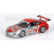 Minichamps 400076444 Porsche 911 Gt3 Rsr Flying Lizard Sebring 2007 Auto Da Gara Scala 1/43
