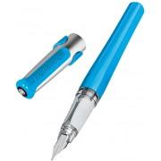 Stilou Pelikano albastru , 2 patroane Pelikan