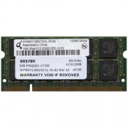 Memorie laptop 1 GB DDR2 Qimonda HYS64T128021EDL-3S-B2 2Rx8 PC2-5300S-555-12-E0