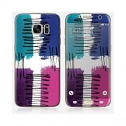 Skinkin Sticker Samsung Galaxy S7 Edge de chez Skinkin - Design original : Twist and shout par Suzie Q