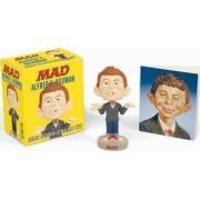 Alfred E. Neuman: Mini Bobblehead Kit by Running Press