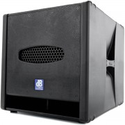 dB Technologies Sub 05D, Subwoofer, Ativo, 800w, 110v (Muito Bom)