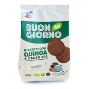 Biscuiti BIO Buongiornobio cu quinoa si cacao 250 g