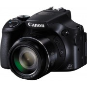 Aparate Foto Digital Canon PowerShot SX60 HS, Filmare Full HD, 16.1 MP, Zoom Optic 65x, Wi-Fi (Negru)