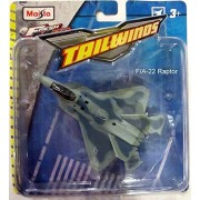 Maisto Fresh Metal Tailwinds F-22 Raptor Camo Stealth Fighter Plane