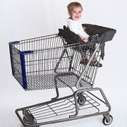 Compact Shopping Cart & High Chair Cover by Cossettie - 3 color options - lightweight durable ripstop nylon portable travel