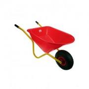 Kinderkruiwagen geel- rood