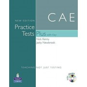 Nick Kenny CAE Practice Tests(+[With Key and Audio CD]) (Practice Tests Plus)