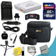 Ideal Accessory Kit for Canon Powershot SX530 HS SX610 HS SX710 HS SX600 HS SX700 HS SX520 HS SX510 HS SX500 IS SX280 HS SX260 HS SX170 IS SD1300 IS SD1200 IS SD980 SD770 SD1300 D30 D20 D10 IXUS 85 IS IXUS