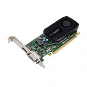 PNY NVIDIA Quadro K600 (1 GB GDDR3), 1GB, Nero