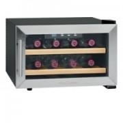 Profi cook réfrigerateur pour vin, acier inoxydable/ noir