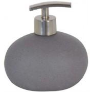 Dosificador de jabón cerámica Piedra gris | Dosificadores de baño