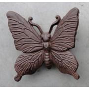 tuindecoratie vlinder gietijzer M staand