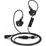 Casti cu microfon Sennheiser IE 8i Black pentru Apple