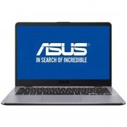 Laptop Asus VivoBook X405UA-BM395 14 inch Full HD Intel Core i5-7200U 4GB DDR4 1TB HDD Endless OS Dark Grey