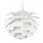 Lampara Artichoke blanco 70 cm