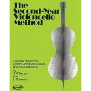 The Second Year Cello Method by Benoy