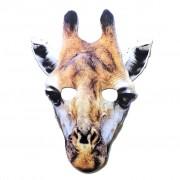 Giraffe Cardboard Cutout Mask
