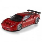Hot Wheels Elite Modellino Auto Ferrari 458 Italia GT2 Scala 1:43