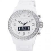 Ceas Bluetooth MyKronoz Zeclock Swarovski smartwatch white