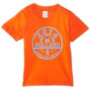 Football Fan Camiseta de manga corta para niño, color naranja, talla talla inglesa: 9-11 years