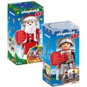 PLAYMOBIL XXL 4895 Knight y 6629 XXL Santa Claus