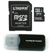 Kingston Micro SD MicroSD TF Flash Memory Card 32GB 32G Class 4 for Black Box G1W Original B40 A118 Stealth Dashboard Da