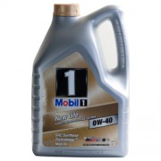 Mobil 1 NEW LIFE 0W-40 5 Litres Jerrycans