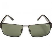 JAGUAR Herren Brillen Sonnenbrille Metall schwarz-grün