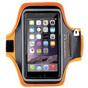 Gear Beast Deluxe Sport Gym Running Phone Armband for iPhone 7 6s 6 5 Galaxy S7 S6 S6 edge S5 and Other Smartphon